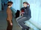 Репетиция в коридоре: К.Игумнова и К.Рахтова