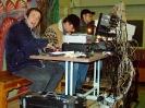 Звукооператоры за настройкой аппаратуры