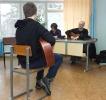 На мастерской Игумнова-Сапфиров