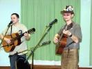 Миниконцерт дуэта «Зеленоватые слегка»