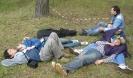 То, что ночью недоспали, мы доспали на поляне