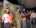 Флаг фестиваля – подарок от КСП «Поиск»