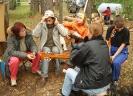 Кристинка уже «отстрелялась» и принимает гостей в лагере