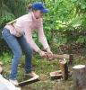 После разговора с мэтром: рубка дров помогает...