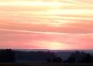 Восход солнца в дороге