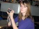 Кристинка учится фотографировать