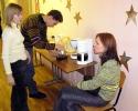 Кофе и чай предлагали перед входом в зал