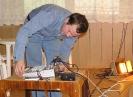 Установка звукооператорского пульта