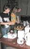 Подготовка буфета