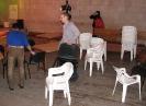 Расстановка столов и стульев