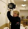 Электрик «Поиска» Роман Акимов