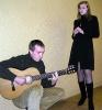 Репетиция в антракте: Саша Митин и Катя Рахтова
