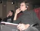 Микрофонная тренировка. Вид из зала